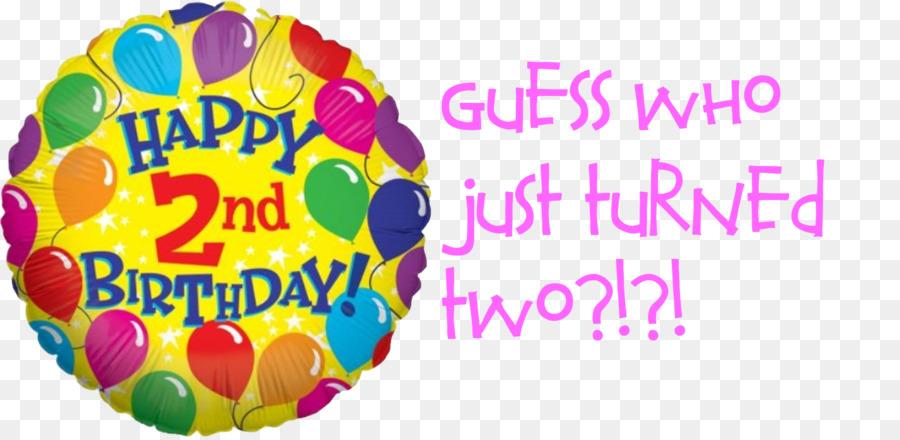 Birthday Cake Balloon Wish Happy To You