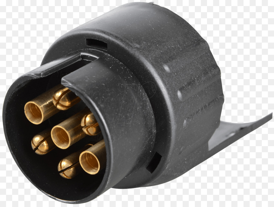 Car Electrical connector Trailer connector Adapter - car png ...
