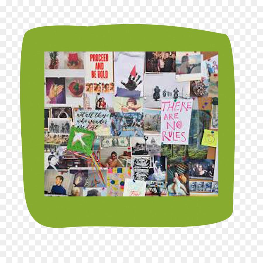 e93648e81c6 Dream board Collage Toronto - Green Board png download - 1000 1000 ...