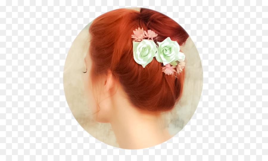 Rote Haare Haar Band Frisur Hochsteckfrisur Haar Png Herunterladen