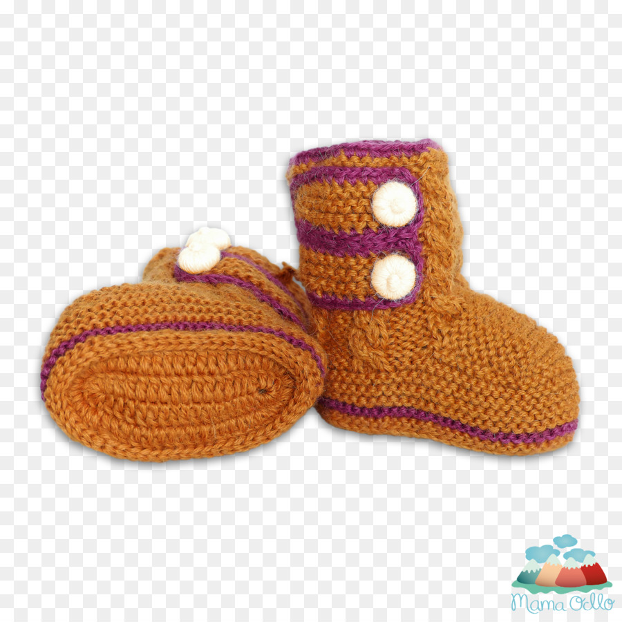 Zapatilla de Alpaca fibra de Lana de un pelele - Bebé de arranque ...