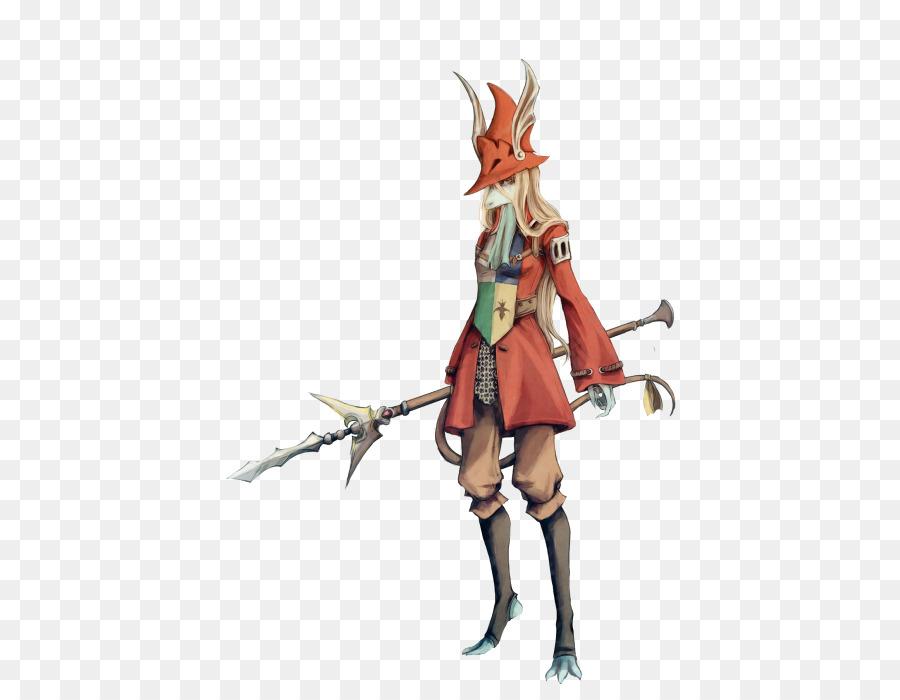 Final Fantasy IX Kuja Art Spear
