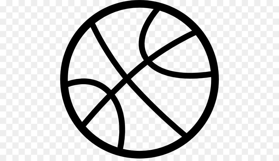 Oklahoma City Thunder Outline Of Basketball Sport Basketball Png
