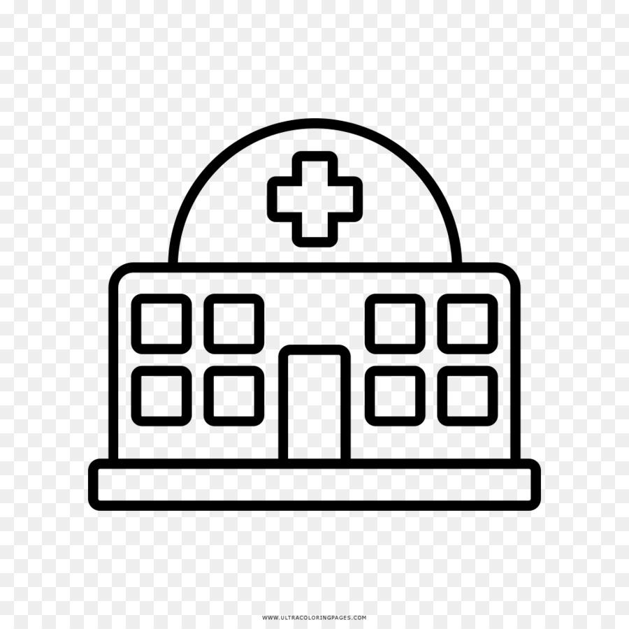 Hospital Dibujo para Colorear libro de la Clínica - otros png dibujo ...
