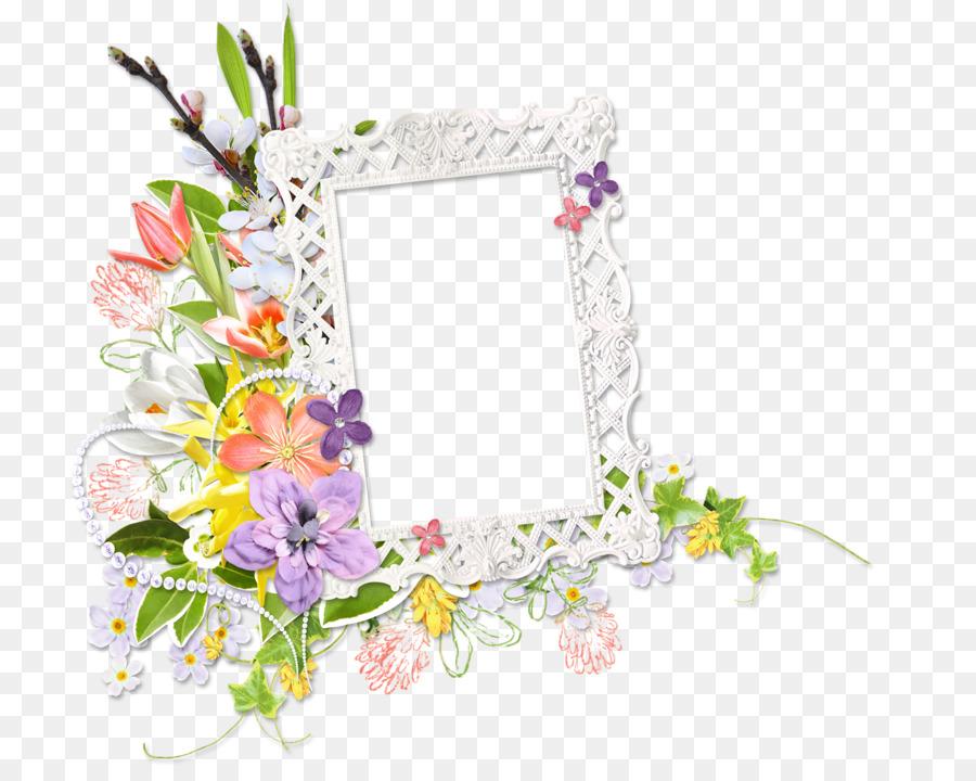 Floral design Picture Frames Flower - flower png download - 800*719 ...