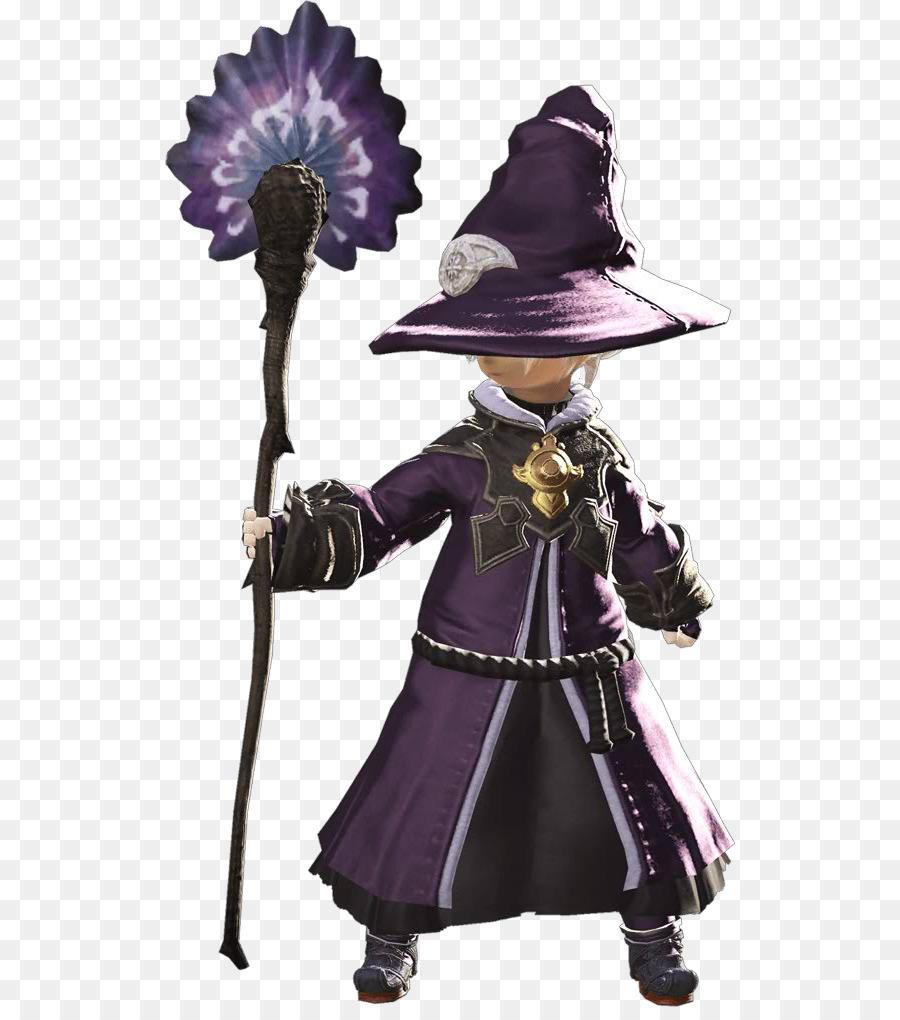 Final Fantasy Xiv Purple png download - 576*1007 - Free