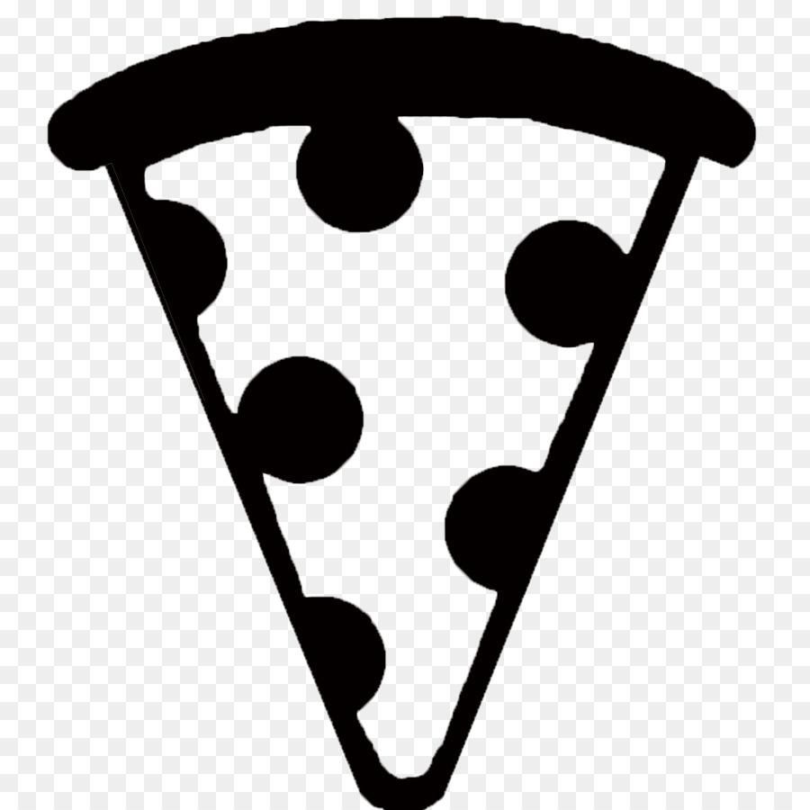 Pizza Black and white Emoji Black and white , pizza
