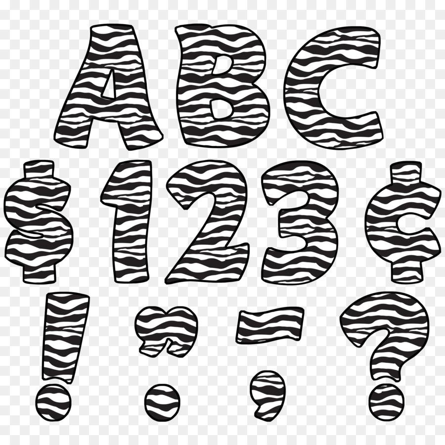 Caso de la letra de Animal print Alfabeto Cebra - zebra png dibujo ...