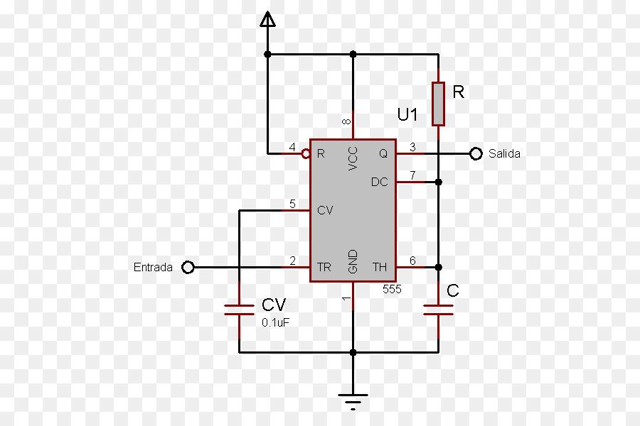 Monoestable 555 Timer IC Astable Multivibrator Monostable