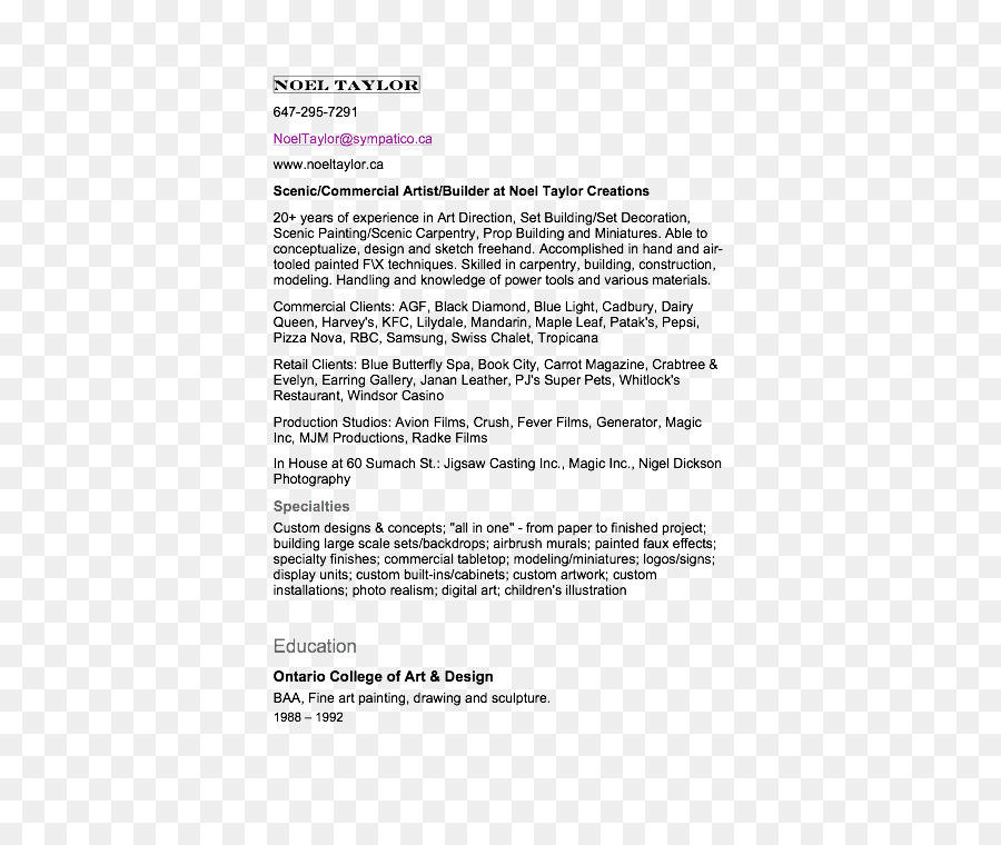 Document Letter Of Recommendation Text PNG