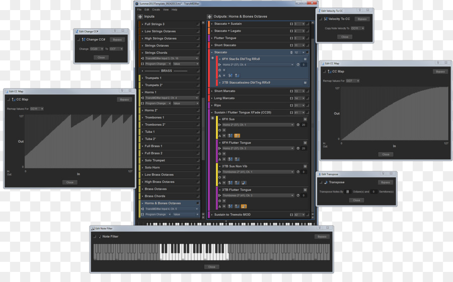 Screenshot Software synthesizer Computer Software MIDI Virtual