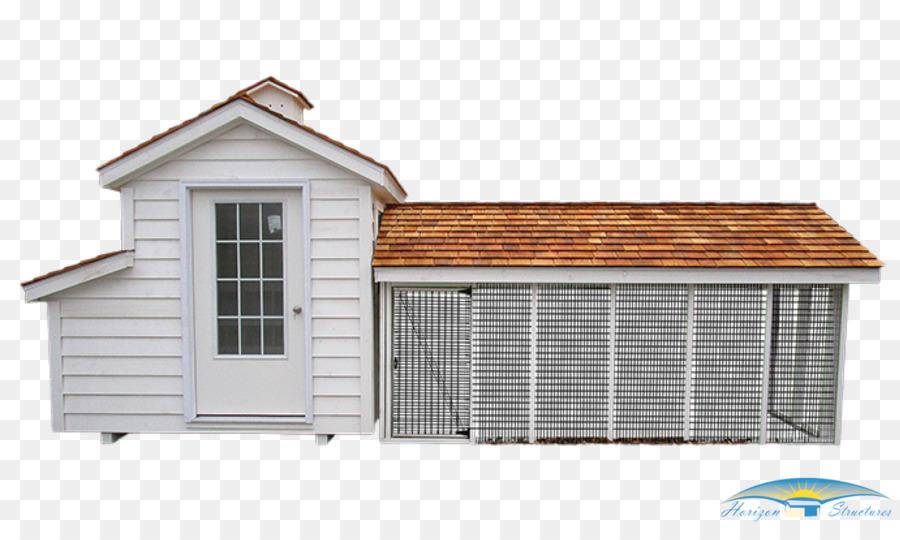 Chicken coop Chicken wire Building House - chicken png download ...