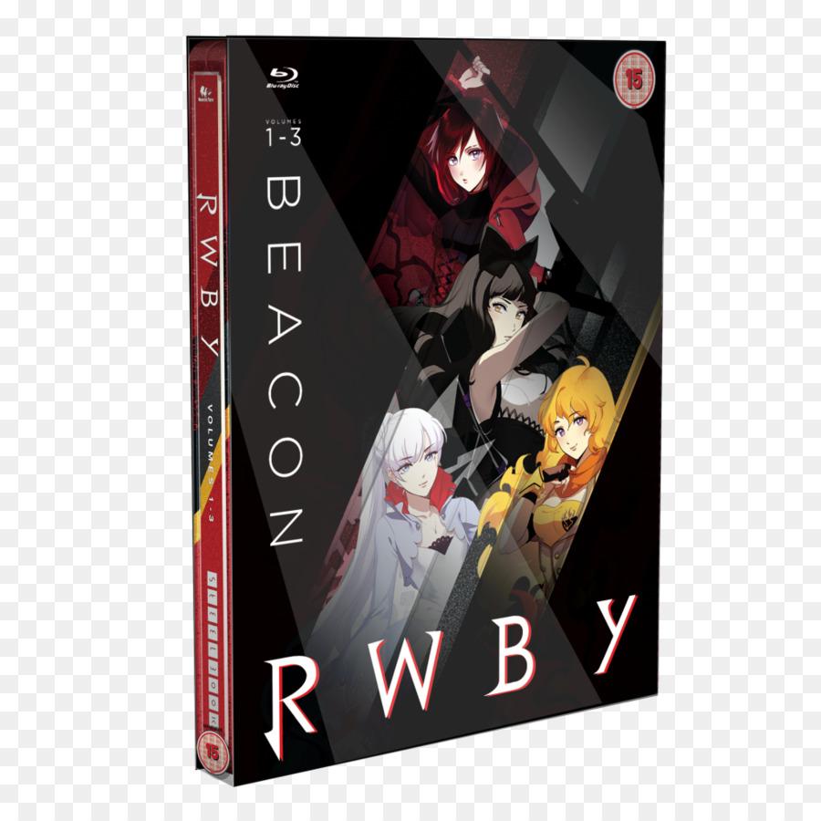 Rwby Volume 1 Dvd png download - 1024*1024 - Free
