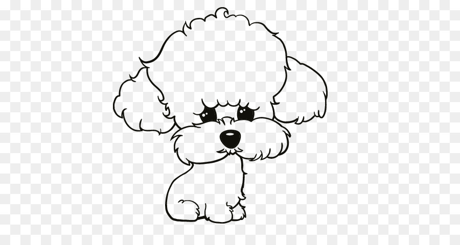Standard Poodle Toy Poodle Puppy Poodle Skirt Shih Tzu Dog Cartoon