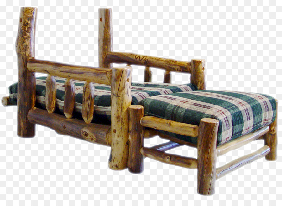 Bed frame Wood Chair Garden furniture - log furniture Formatos De ...