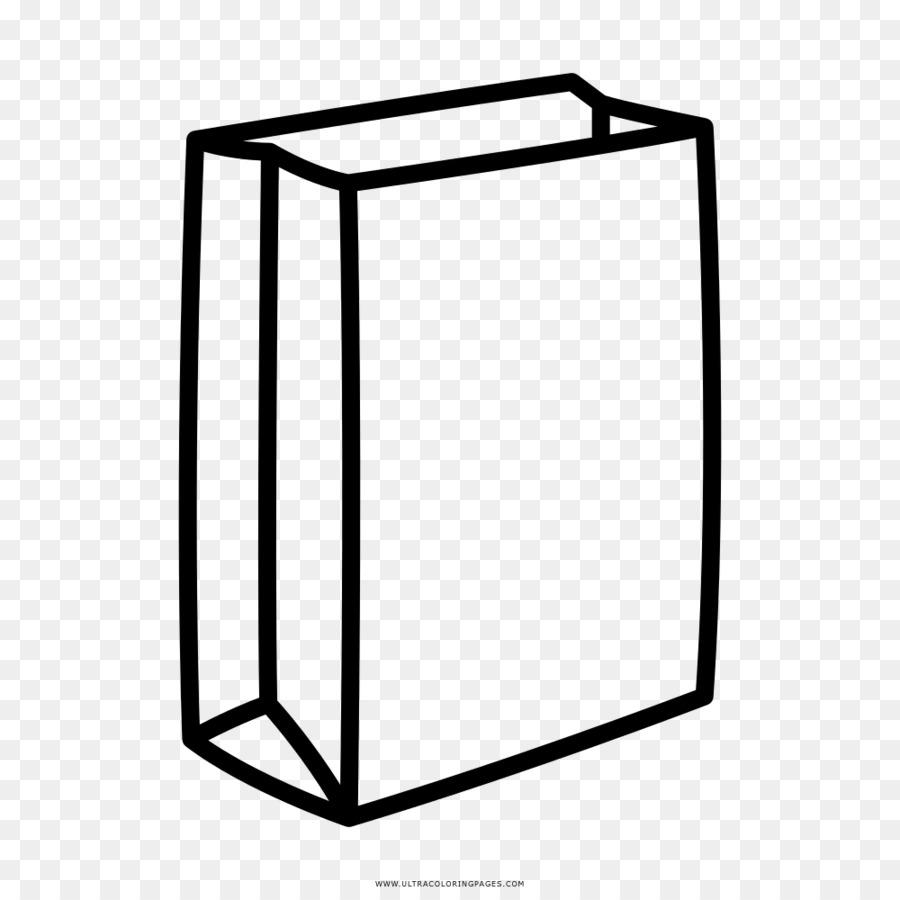 Paper bag Drawing Coloring book - bag png download - 1000*1000 ...