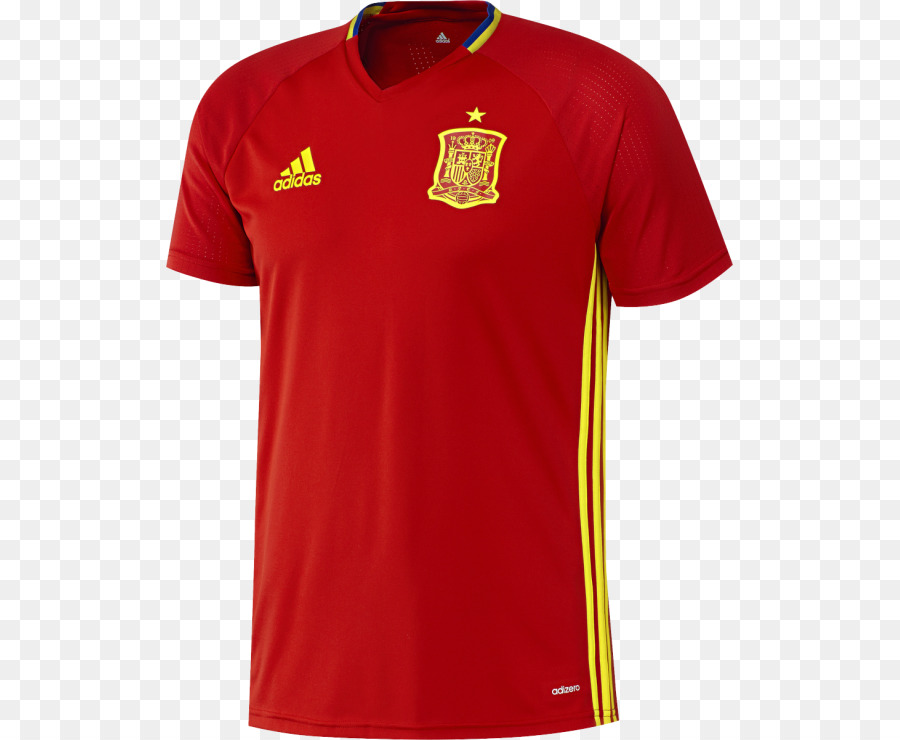 1f6b2dde0a5 2018 World Cup Spain national football team T-shirt Jersey - T-shirt ...