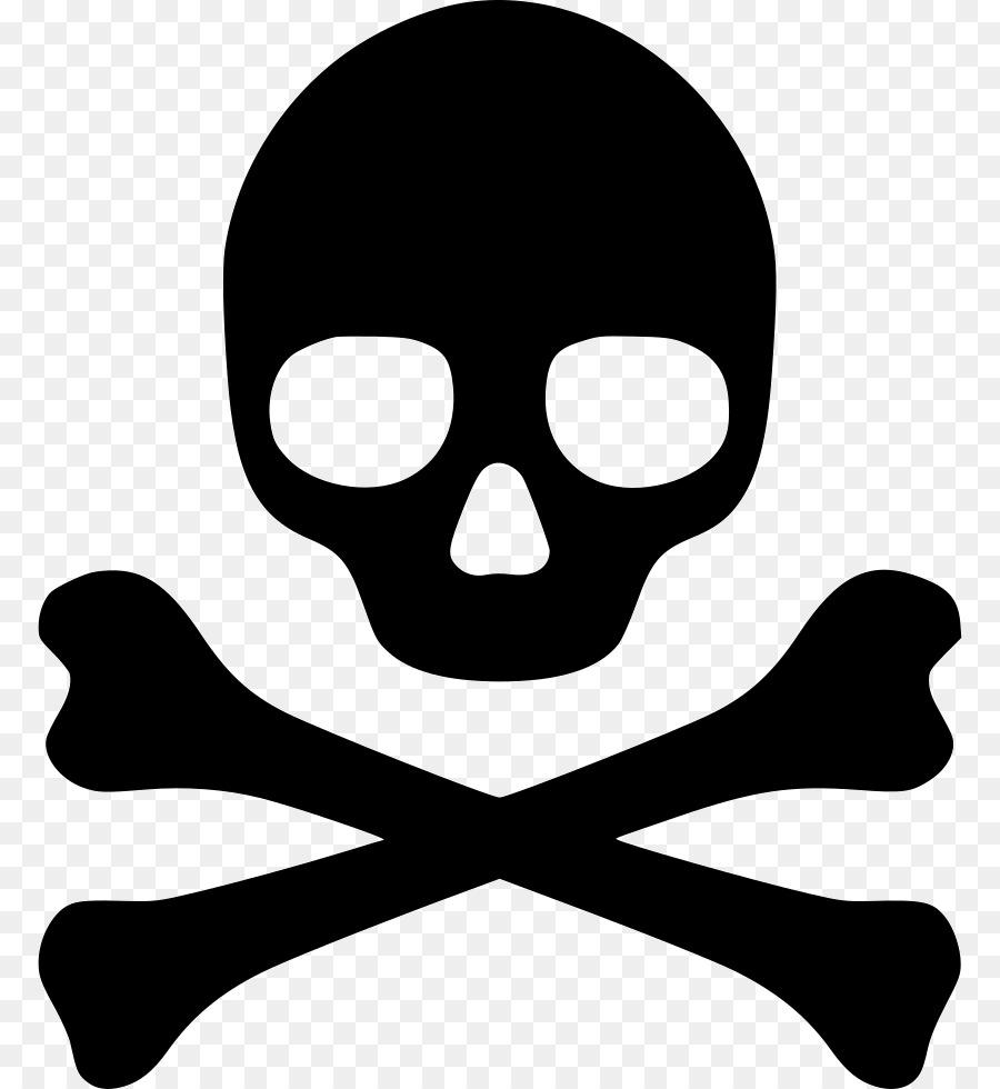 Poison Hazard Symbol Skull And Crossbones Symbol Png Download