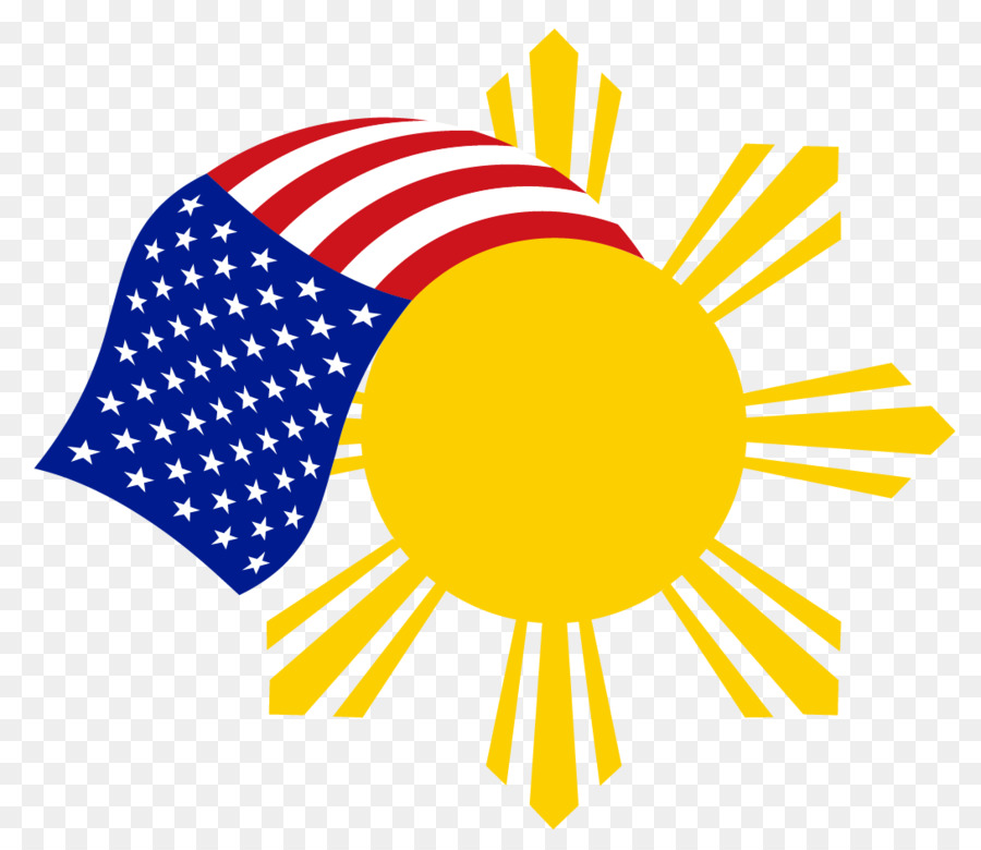 Flag Of The Philippines Solar Symbol Symbol Png Download 1089