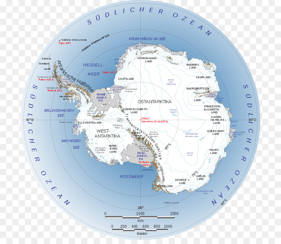 East Antarctica World Map Antarctic Circle World Map Png Download