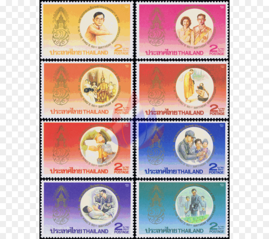 Material Porto Briefmarken 60 Geburtstag Png Herunterladen 800