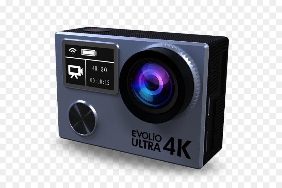 Digital Cameras 4K resolution 1080p Frame rate - Camera png download ...