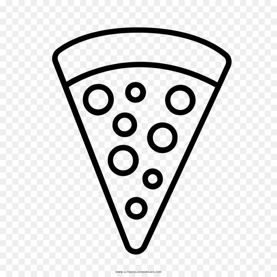 Pizza Pepperoni Menggambar Buku Mewarnai Pizza Poster Unduh