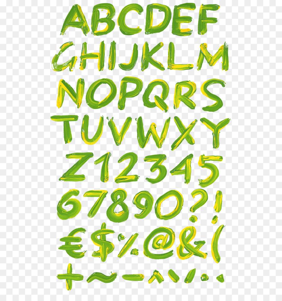 Color Brazil Green Paint Font - paint png download - 595*947 - Free ...