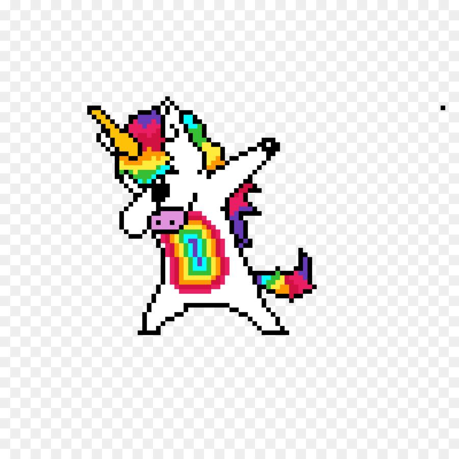 Pixel Art Unicorn Drawing Bead Unicorn Png Download 1200 1200