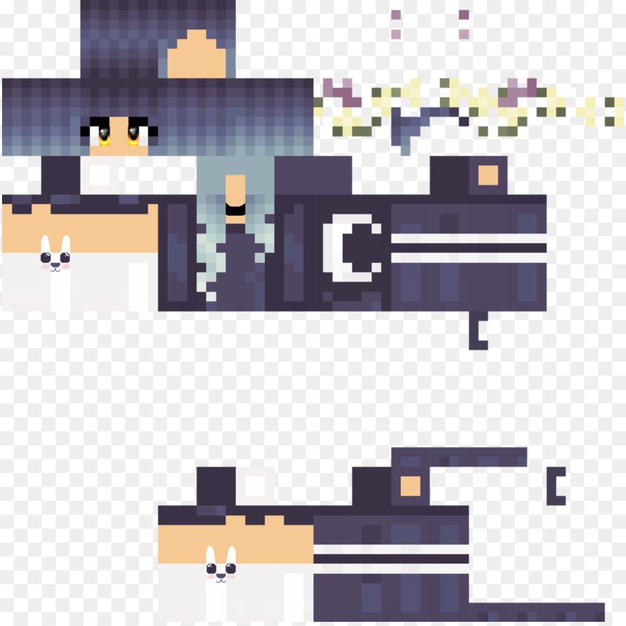 Minecraft Video game PlayStation 3 Portal 2 - Minecraft skin png ...