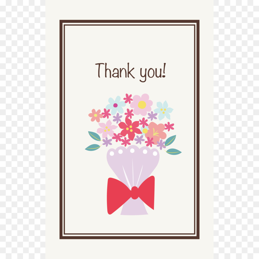 Floral Design Greeting Note Cards Birthday Post Cards Thank You