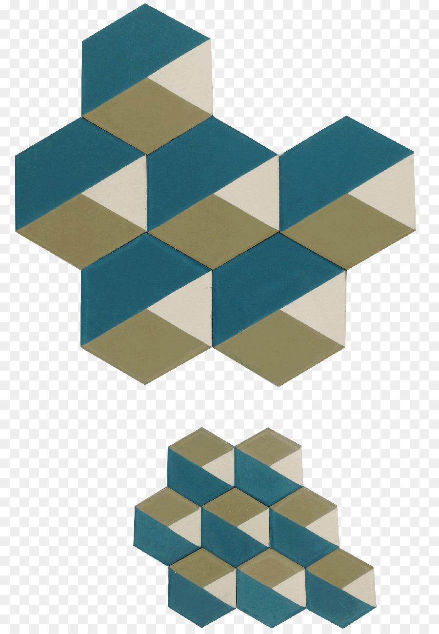 Cement tile Encaustic tile Floor Pattern - design png download - 851 ...