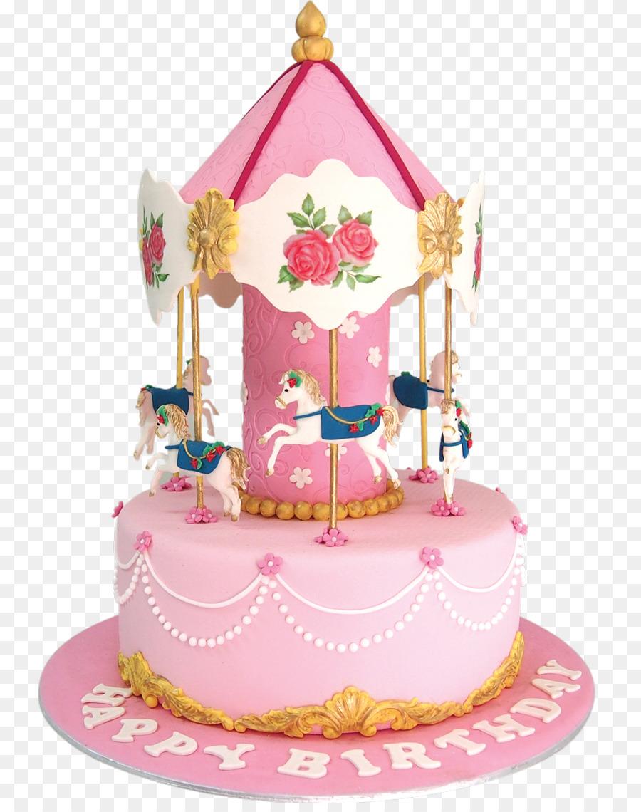 Torte Birthday Cake Cake Decorating Carousel Euclidean Decorative