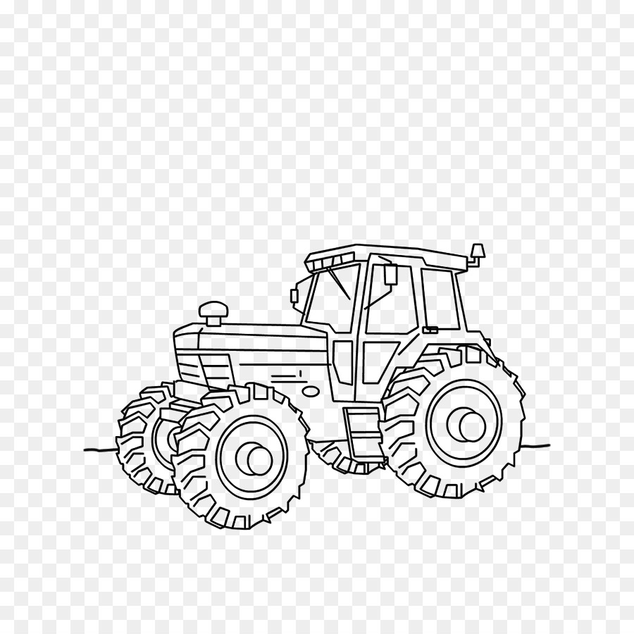 Kleurplaten Van Tractors.Car Tractor Fordson Kleurplaat Drawing Car Png Download 700 900