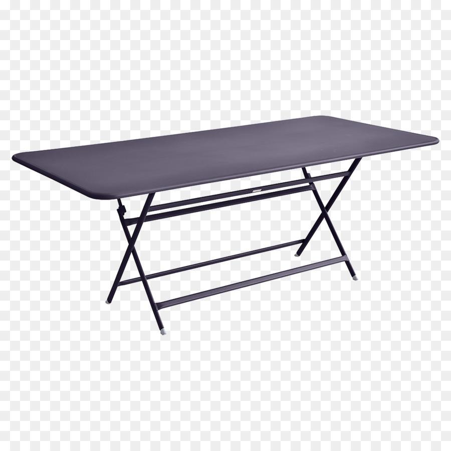 Mesas plegables muebles de Jardín Fermob SA - tabla Formatos De ...