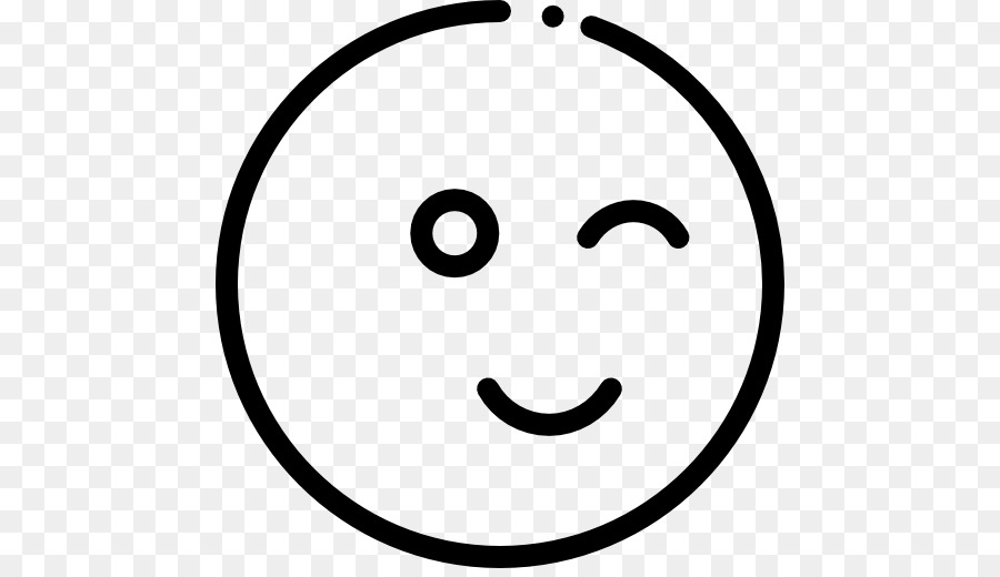 Computer Icons Symbol Emoji Wink Png Download 512512 Free