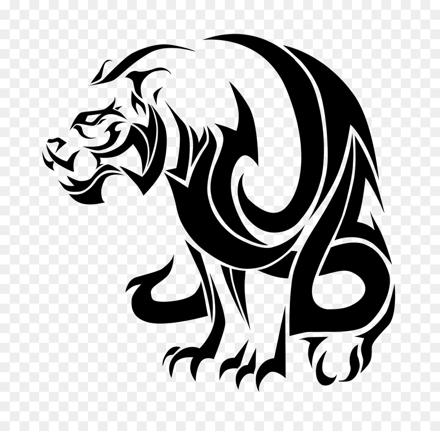 Tiger Tattoo Lion Tattoo Designs And Meanings Png Download 800