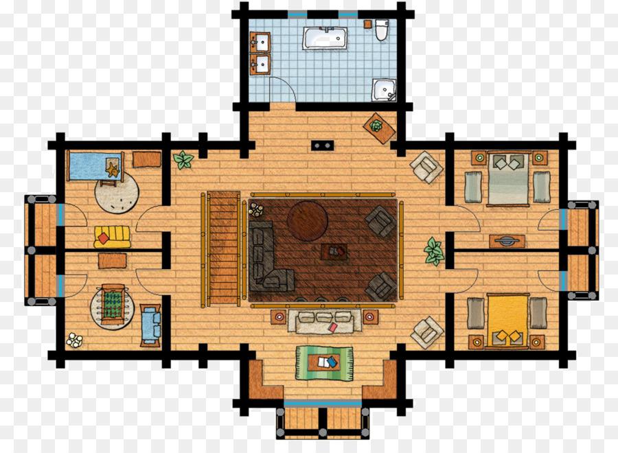 шале план этажа дома мэзон ан буа этажного дом Png скачать