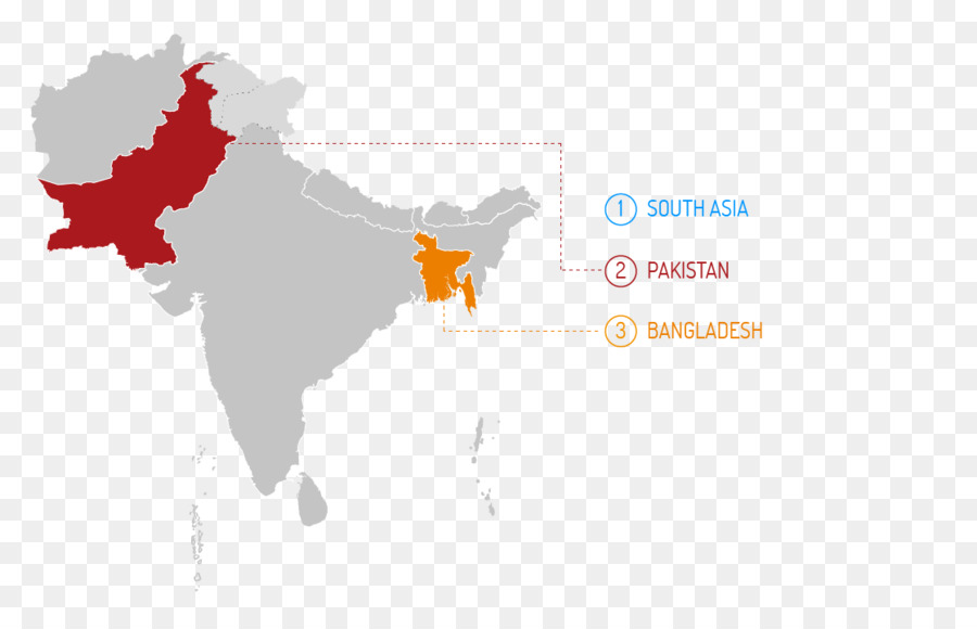 Pakistan Partition Of India World Map World Map Png Download