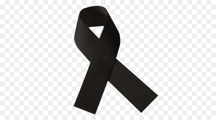 Black Ribbon Mourning Grief Lazo Symbol Png Download 500500