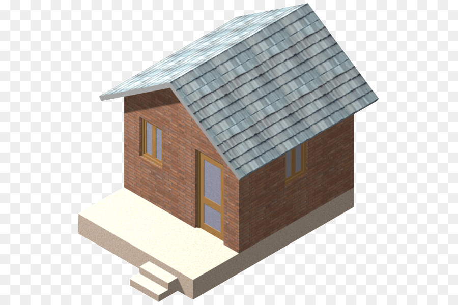 Shed House Facade Hut   3d Model Home