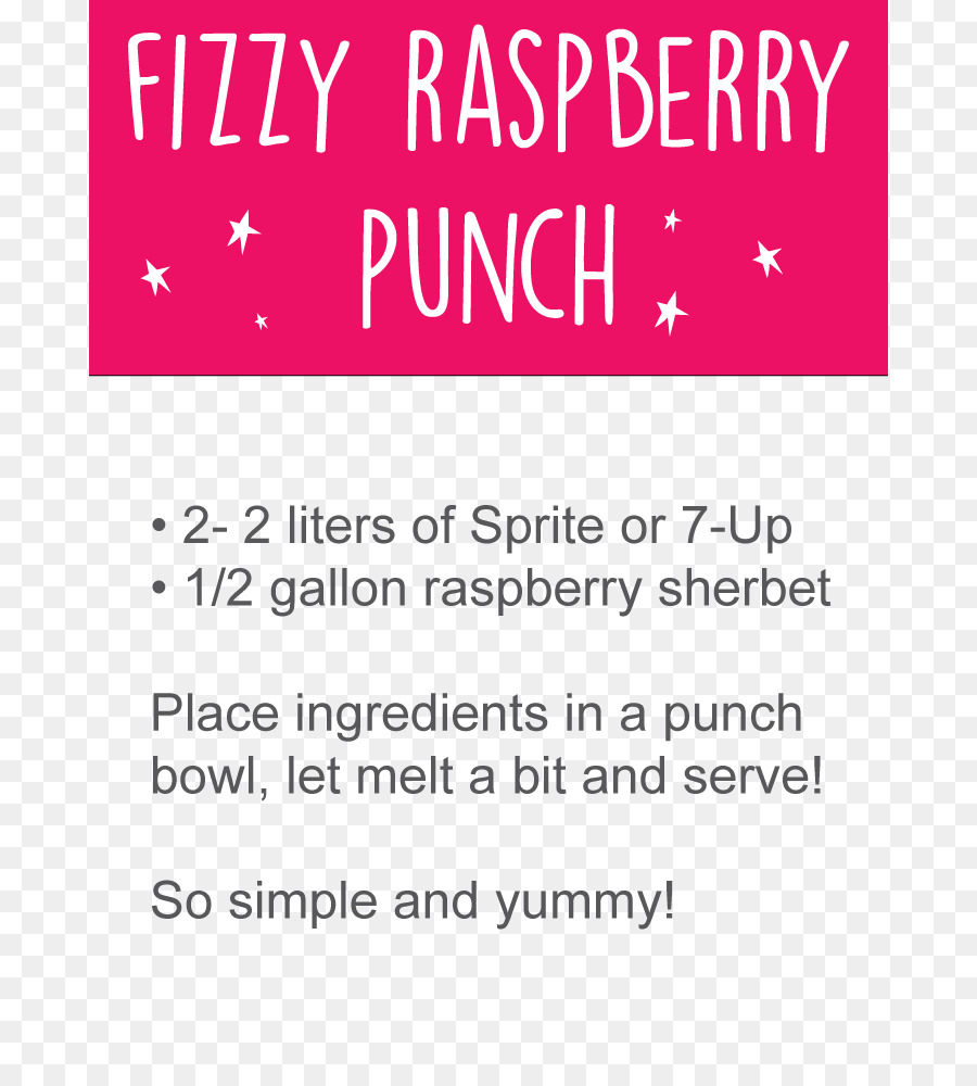 Punch Sorbet Baby Shower Party Non Alcoholic Drink Punch Png