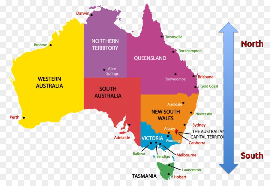 Australia Region World Map Geography Australia Png Download 1024