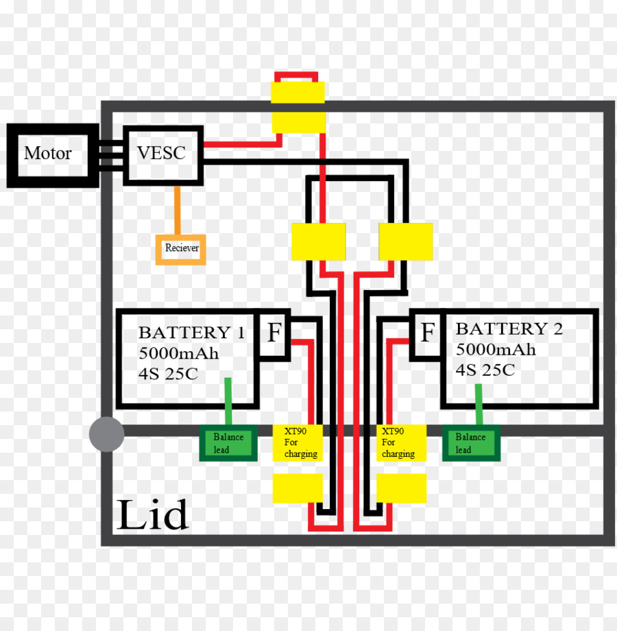 Wiring Diagram Schematic Electric Skateboard Electronics Circuit Sparks