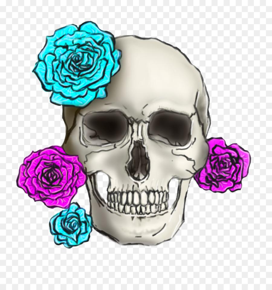 Skull Flower Font
