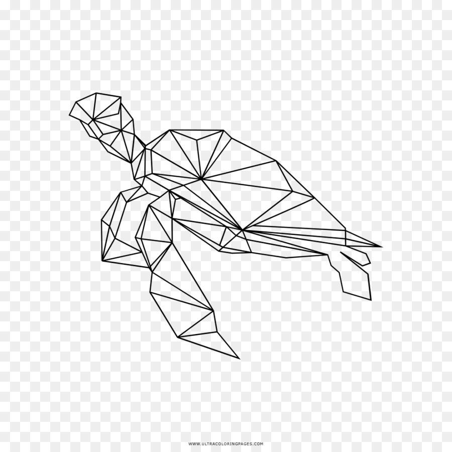 Bebé de Tortugas Marinas de la Línea de arte, Dibujo para Colorear ...