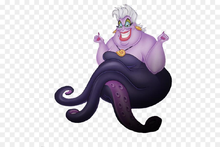 Ursula Ariel The Little Mermaid Flotsam Minnie Mouse