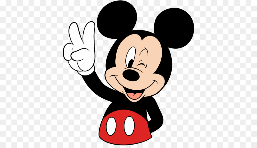 Mickey Mouse-Minnie Mouse-Aufkleber Der Walt Disney Company ...