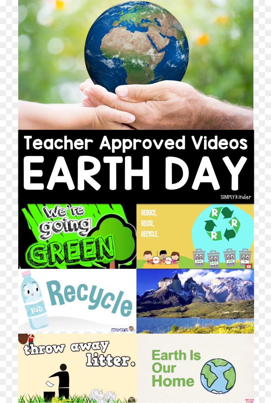 Tag Der Erde Planet Recycling Kindergarten - der Tag der Erde png ...