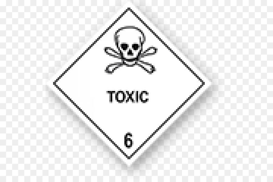Hazard Symbol Hazmat Class 6 Toxic And Infectious Substances